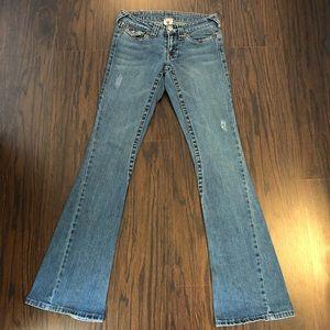 True religion jeans Joey big T slim flare size 27W